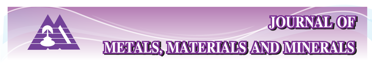 Journal of Metals, Materials and Minerals